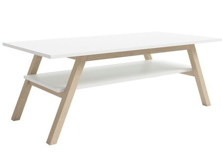 Table basse Carl blanc mat